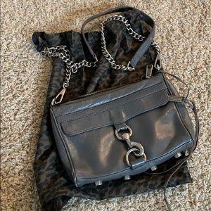 Rebecca Minkoff - Steel Gray crossbody bag.